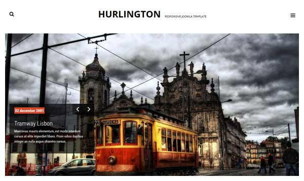 Hurlington Joomla Template